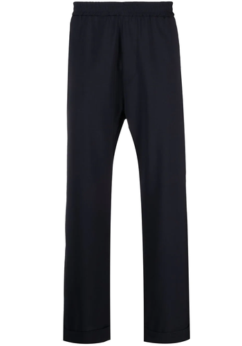 BARENA pantalon trincheto navy