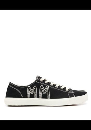 MAISON MARGIELA canvas sneaker black