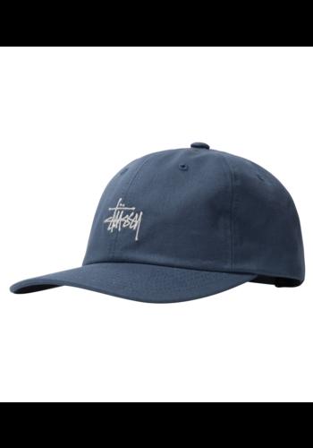 STUSSY stock low pro cap blue