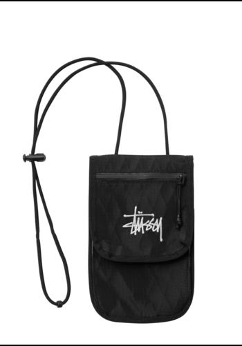 STUSSY travel pouch black