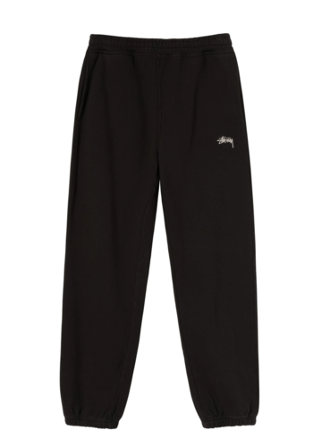 STUSSY overdyed sweatpants black