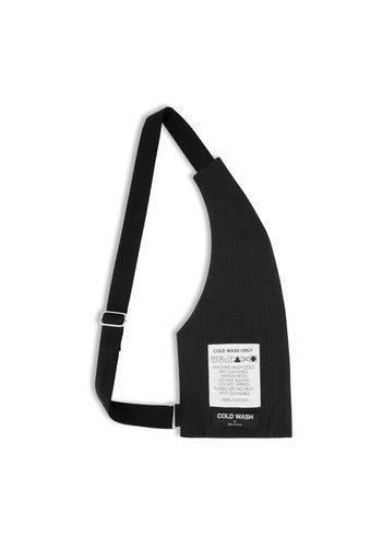 COLDWASH metal-plate crossbody bag
