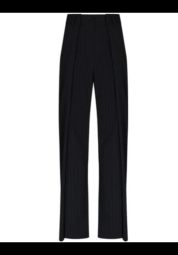 MM6 MAISON MARGIELA trousers navy white