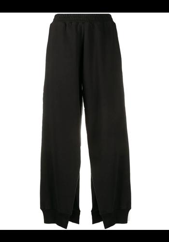 MM6 MAISON MARGIELA loose trousers split legs black