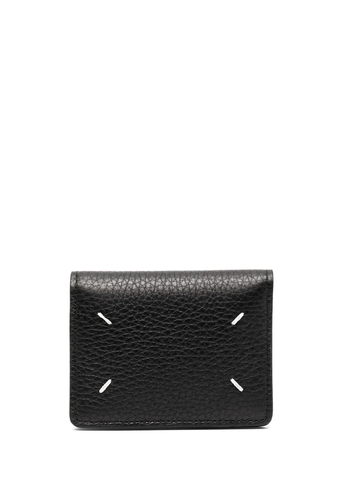 MAISON MARGIELA wallet keyring deer leather black