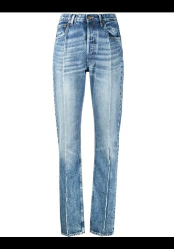 MAISON MARGIELA backpocket recycled denim jeans