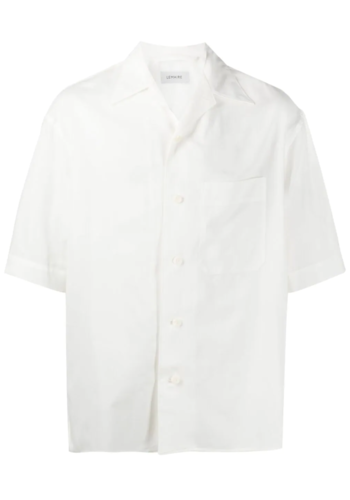 LEMAIRE short sleeve shirt white