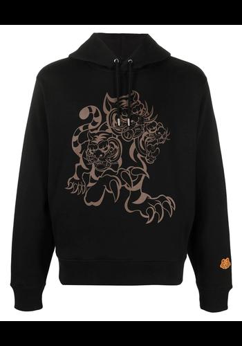 KENZO seasonal logo classic hoodie black