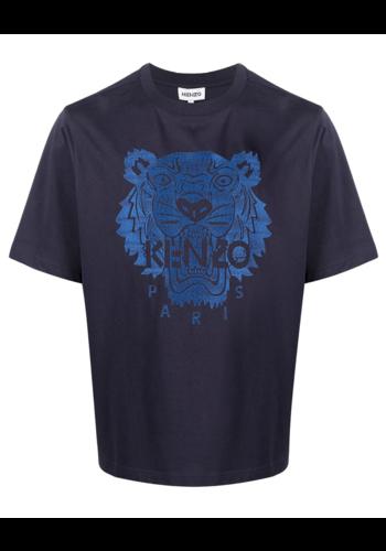 KENZO light tiger oversize t-shirt dark blue