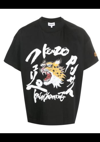 KENZO seasonal logo boxy t-shirt black