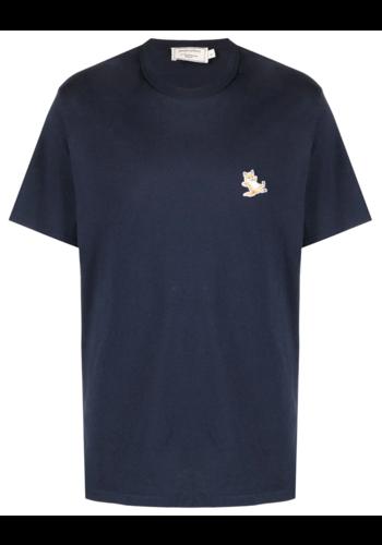 MAISON KITSUNE chillax fox t-shirt navy