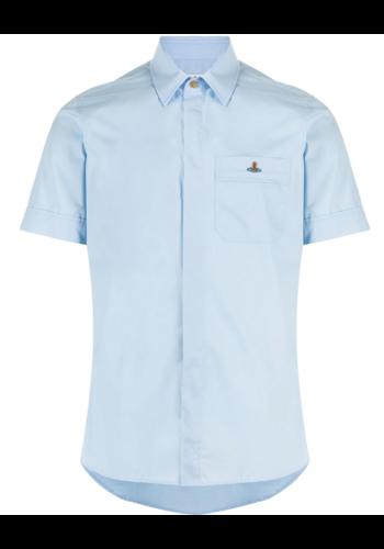 VIVIENNE WESTWOOD classic ss shirt light blue