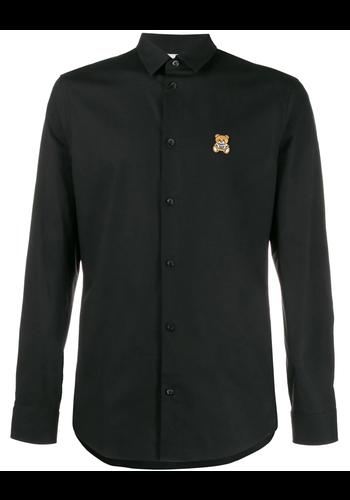 MOSCHINO fantasy bear shirt black