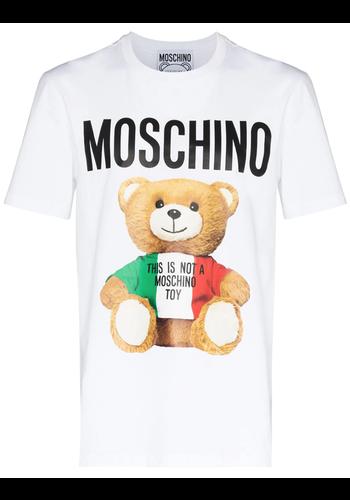 MOSCHINO bear t-shirt white