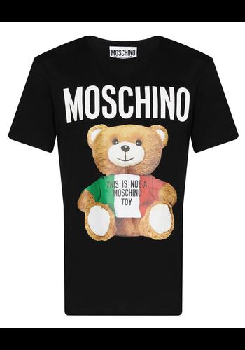 MOSCHINO bear t-shirt black