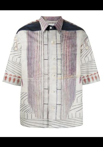 LEMAIRE ramirez shirt ss multicolor