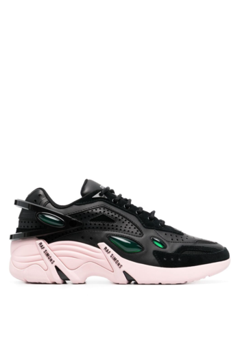 RAF SIMONS cyclon-21 runner black/pink