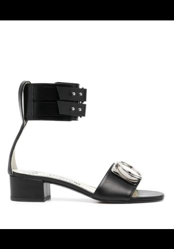 VIVIENNE WESTWOOD anello sandal black