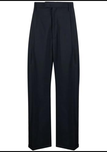 BARENA pantalon braghier navy
