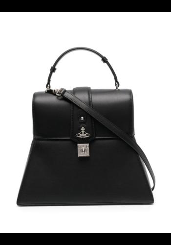 VIVIENNE WESTWOOD hampton handbag black