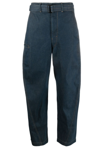 LEMAIRE twisted pants jean blue