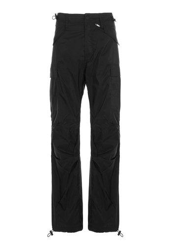 032C translucent nylon pants black