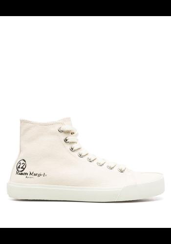 MAISON MARGIELA hi-top tabi sneaker beige