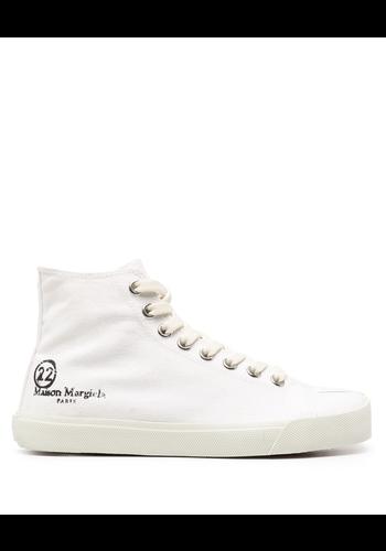 MAISON MARGIELA hi-top tabi sneaker white