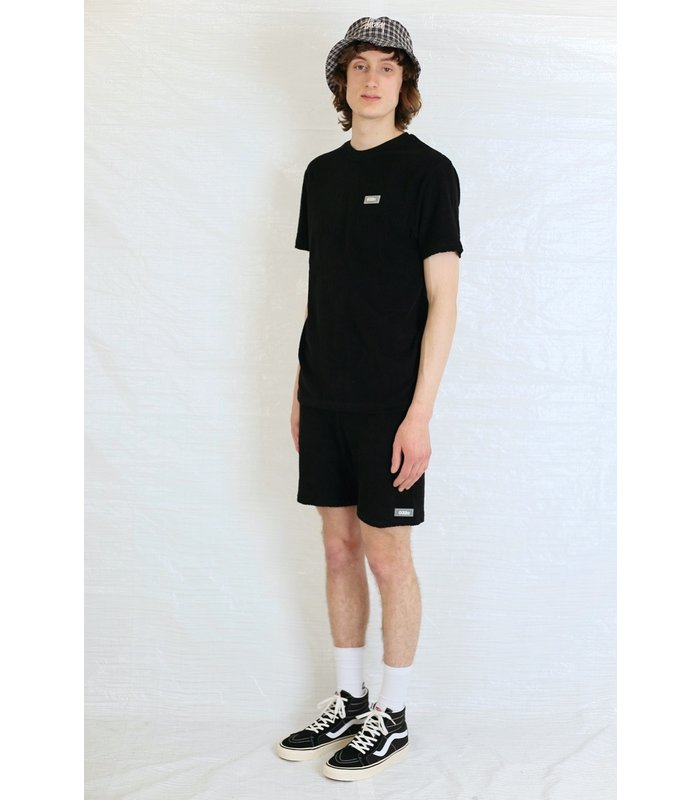 TOPOS TERRY T-SHIRT BLACK