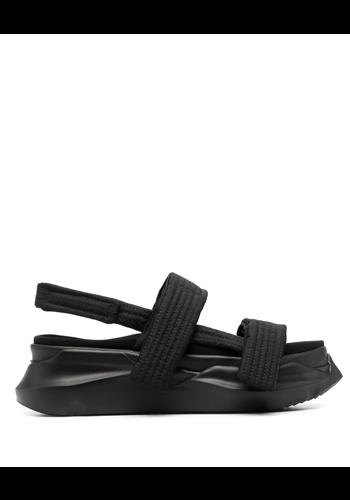 RICK OWENS DRKSHDW abstract sandal black