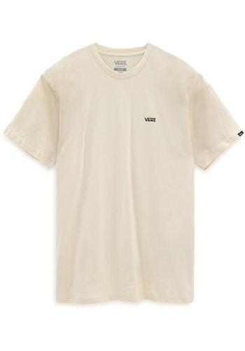VANS mn left chest logo tee black/white