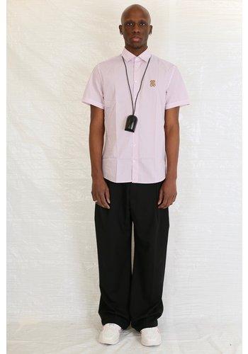 MOSCHINO moschino pink triangle print shirt