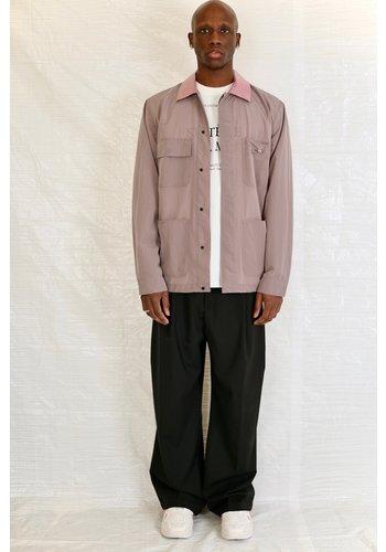 032C worker jacket heat grey/pink