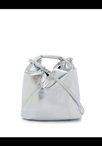 MM6 MAISON MARGIELA silver bag small