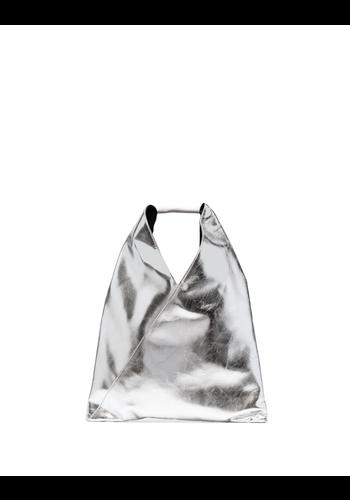 MM6 MAISON MARGIELA silver bag medium