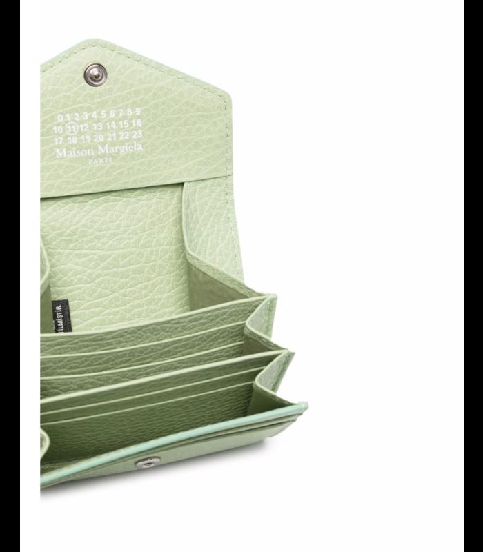 BUSINESS CARD WALLET PISTACHIO