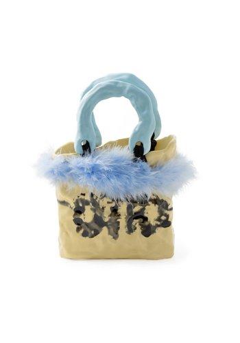 OTTOLINGER signature ceramic bag blue/natural