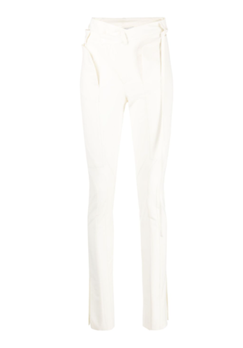OTTOLINGER fitted suit trousers pearl