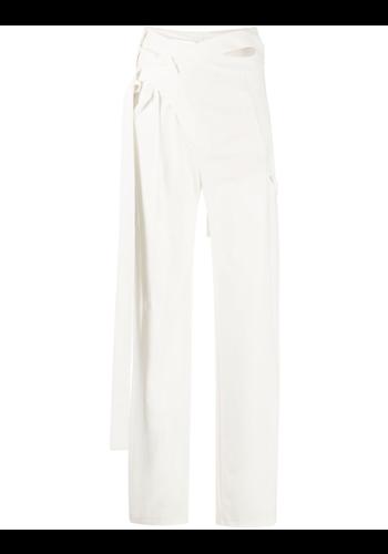 OTTOLINGER signature wrap suit trousers pearl
