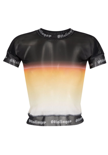 OTTOLINGER mesh t-shirt sunset