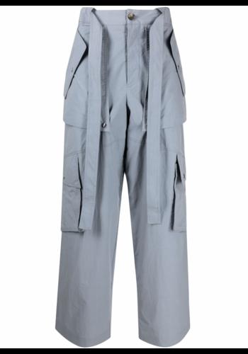 KENZO large cargo pants pearl grey