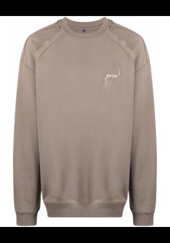 ADER ERROR sw02 sweatshirt beige