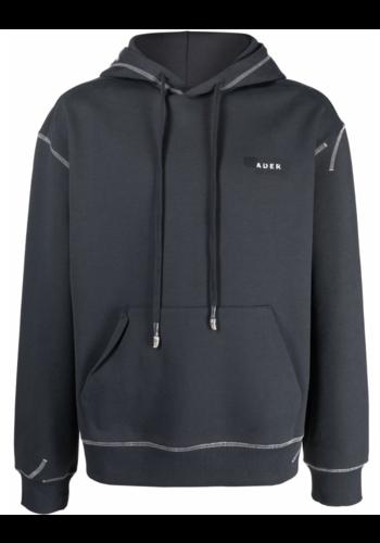 ADER ERROR hd02 hoodie charcoal