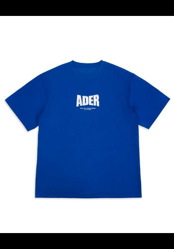 ADER ERROR og ; form @2201 t-shirt blue