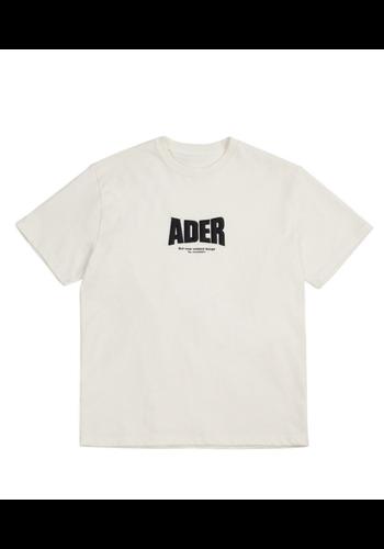 ADER ERROR og ; form @2201 t-shirt white