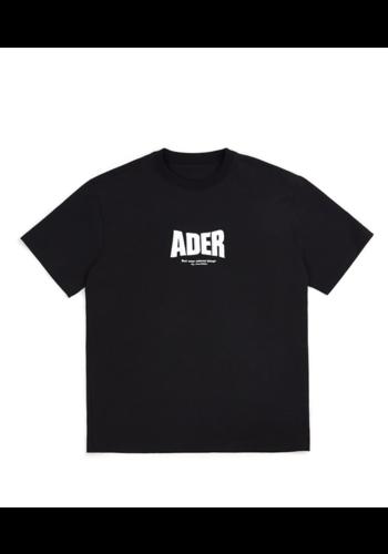 ADER ERROR og ; form @2201 t-shirt black