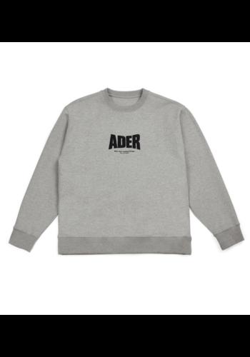 ADER ERROR og ; form @4201 sweater grey