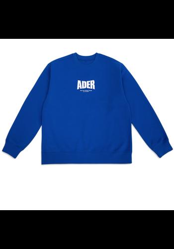 ADER ERROR og ; form @4201 sweater blue