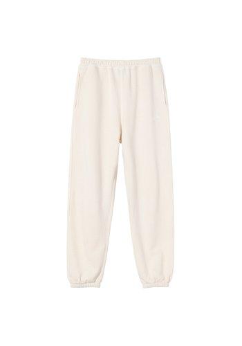 STUSSY stock logo pants oatmeal