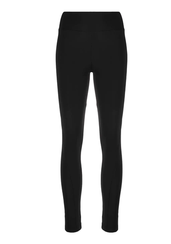 Y-3 logo leggings black